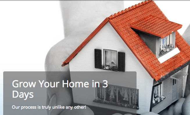 How To Grow Your Home - 3 Days