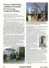Press Article - Modular Home