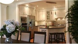 Interior work by Modular Home Additions